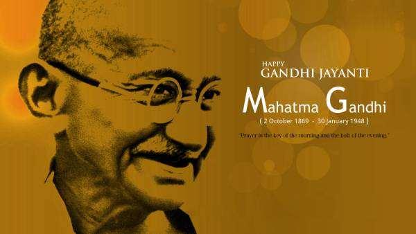 Gandhi Jayanti Lines