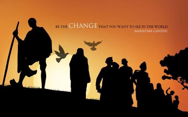 Gandhi Jayanti Quotes & Status