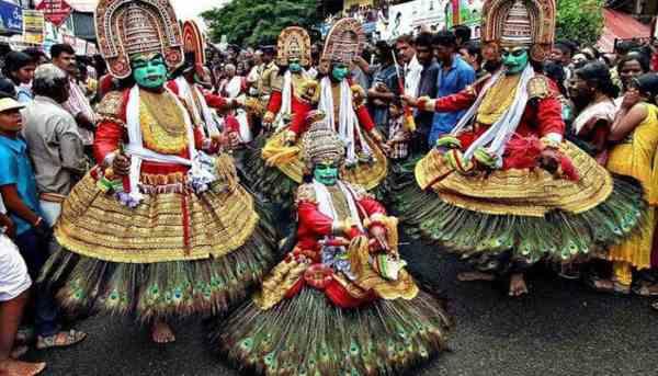 Onam Festival Essay in Malayalam