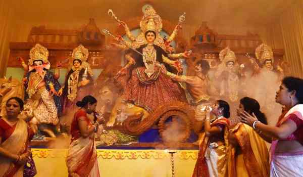 Durga Puja wishes for whatsapp